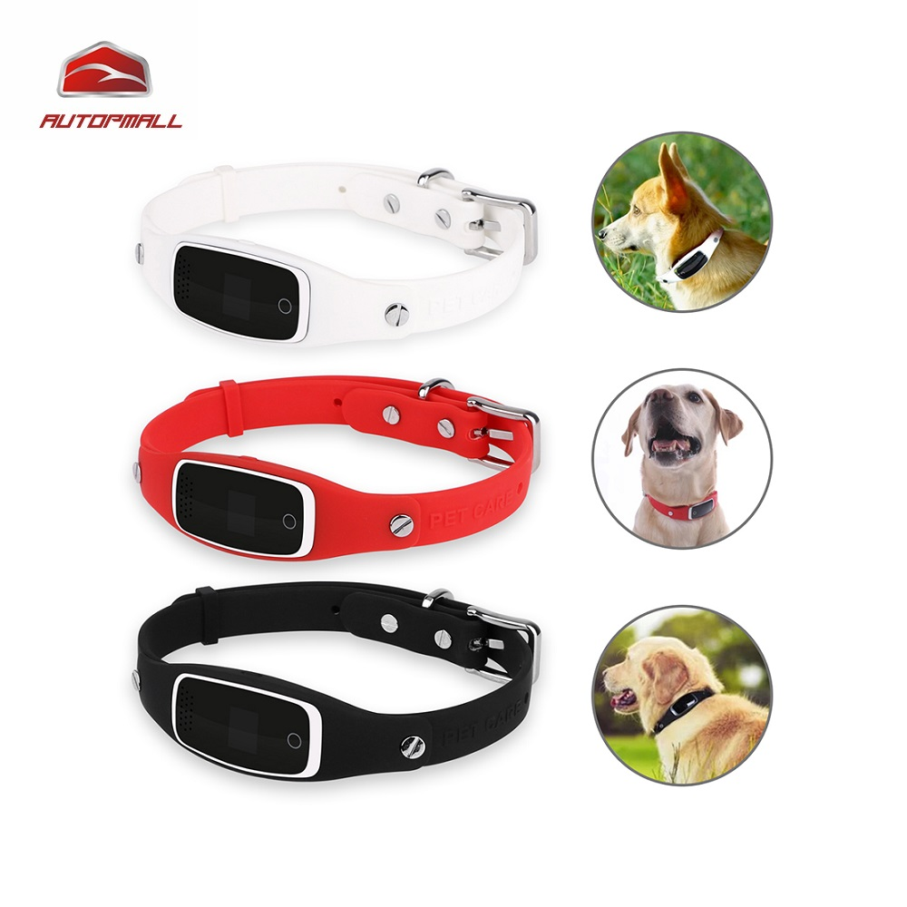 Dog GPS Tracker Pet GPS Collar Real Time Tracking GSM GPRS Locator Silicon Collar GPS+LBS+WIFI Positioning Geo Fence Free APP mini waterproof silicon pets collar gps tracker real time locator gps lbs wifi location locator for dog cat tracking geofence