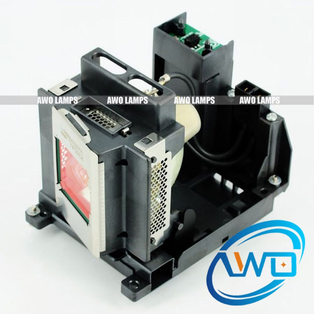 AWO Compatible Projector Lamp POA-LMP130 Replacement with Housing for SANYO PDG-DET100JL/DHT100L/DET100L/EIKI EIP-HDT20/EIP-SXG2 цена