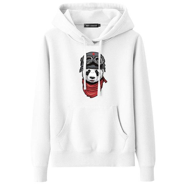 Cute Panda Printed 3D Hoodies Unisex Sweatshirts Mens Casual Coats Fashion Hooded Jackets Autumn Winter Warm Tracksuits Pullover