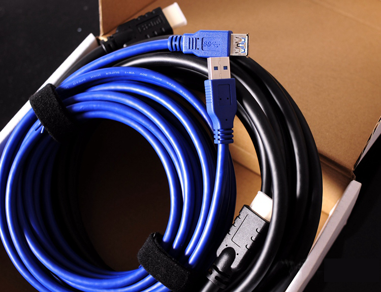 US $17 67 7% OFF|4K HDMI Extension cable USB 3 0 Extension cable For  Microsoft MR Windows VR For Samsung Odyseey For HP VR-in 3D Glasses/  Virtual