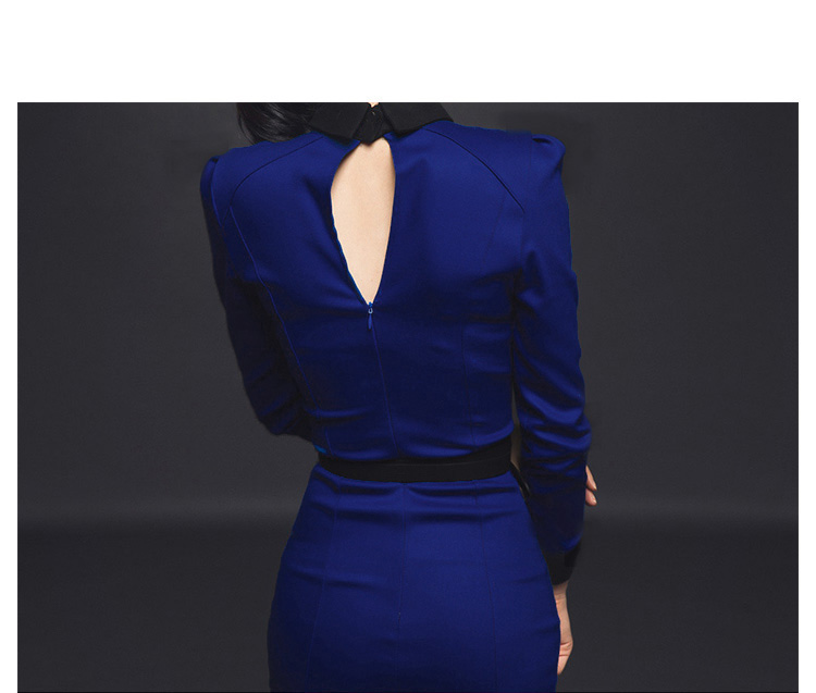 2020 Casual Dress Women Summer Solid Hollow Out Long Sleeve Sexy Party Dresses Elegant Slim Bodycon Bandage Dress for Ladies