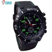 Watch OTOKY Willby Fashion Hours Quartz Watch Men Military Watches Silicone Sport Wristwatch 161213 Drop Shipping
