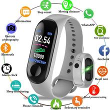 M3  plus Smart Band Watch Fitness tracker Wristband Heart Rate Activity Color Screen Smart Electronics Bracelet Sport watch цена