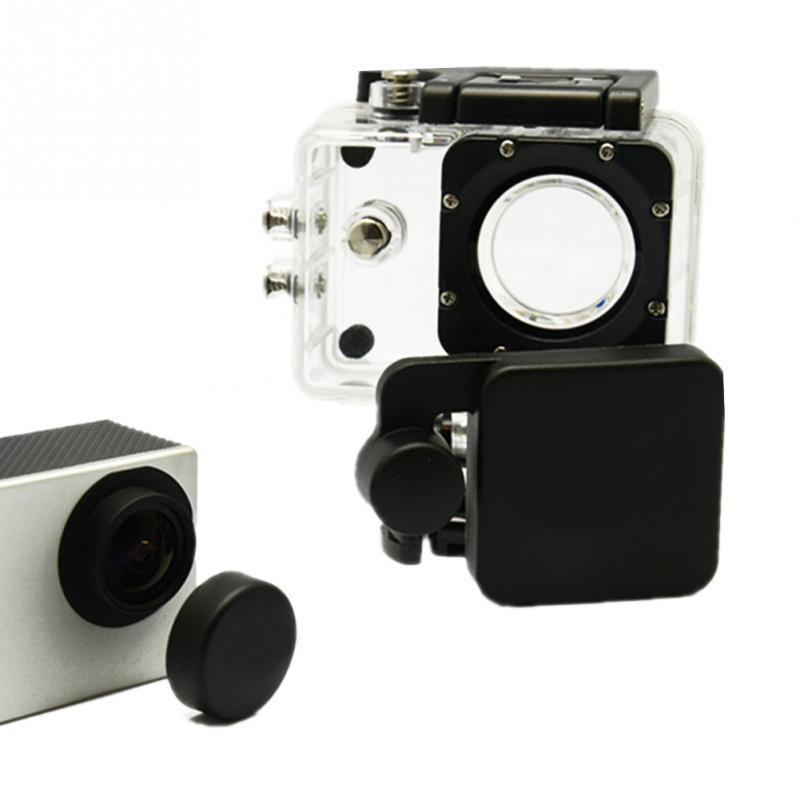 Pro Sports Camera SJCAM Accessories SJ4000 Lens Cap Cover And Hood Compatible For SJ4000 WIFI Camera camera lens