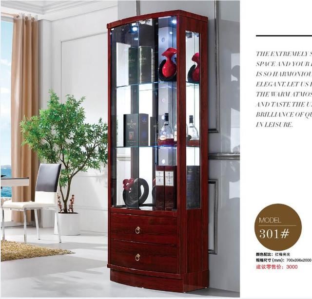 301# Modern Living Room Furniture Living Room Cabinet Display Cabinet  Showcase Wine Cabinet