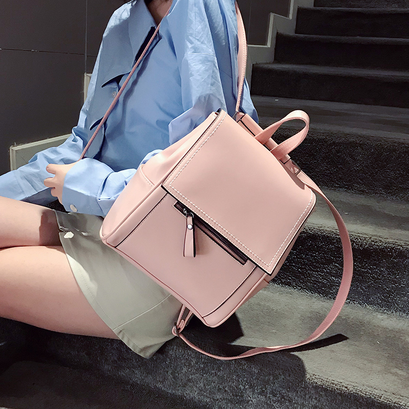 Fashion Ladies Small Backpack Women Backpack Female New Shoulder Bag Travel Bag For Teenager Girls Backpack