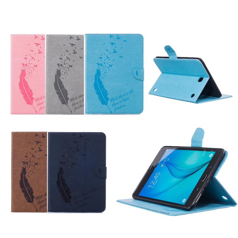 For Samsung Galaxy Tab A 9.7 T550 crazy horse leather Case With Cards Slot SM-T551 SM-T555 9.7 Stand Smart Cover Auto Sleep аксессуар чехол samsung galaxy tab a 7 sm t285 sm t280 it baggage мультистенд black itssgta74 1