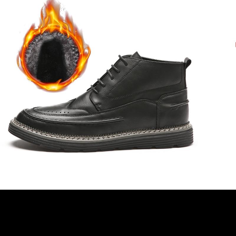 Casual Inverno Designer gray And Hot black black Velvet Mens Vender Couro De Botas Fashion Homens Mxz8309102 Gray Velvet wqxRgIqA