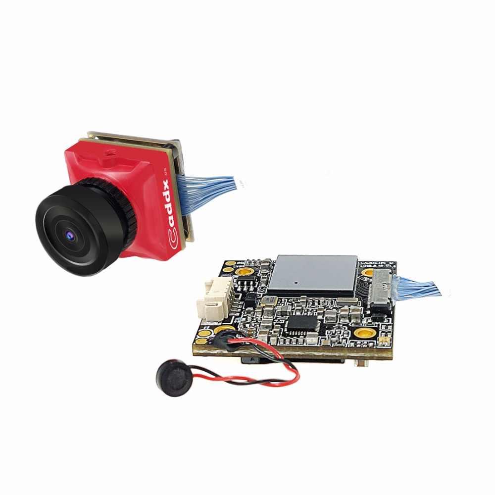 Caddx. штепсельная вилка стандарта США черепаха V2 800TVL 1,8 мм 1080 p 60fps совместимая с цифровыми стандартами NTSC/PAL переключаемый HD FPV Камера w/DVR для радиоуправляемых моделей RC DIY небольшой гоночный Дрон с видом от первого лица квадрокоптера RC