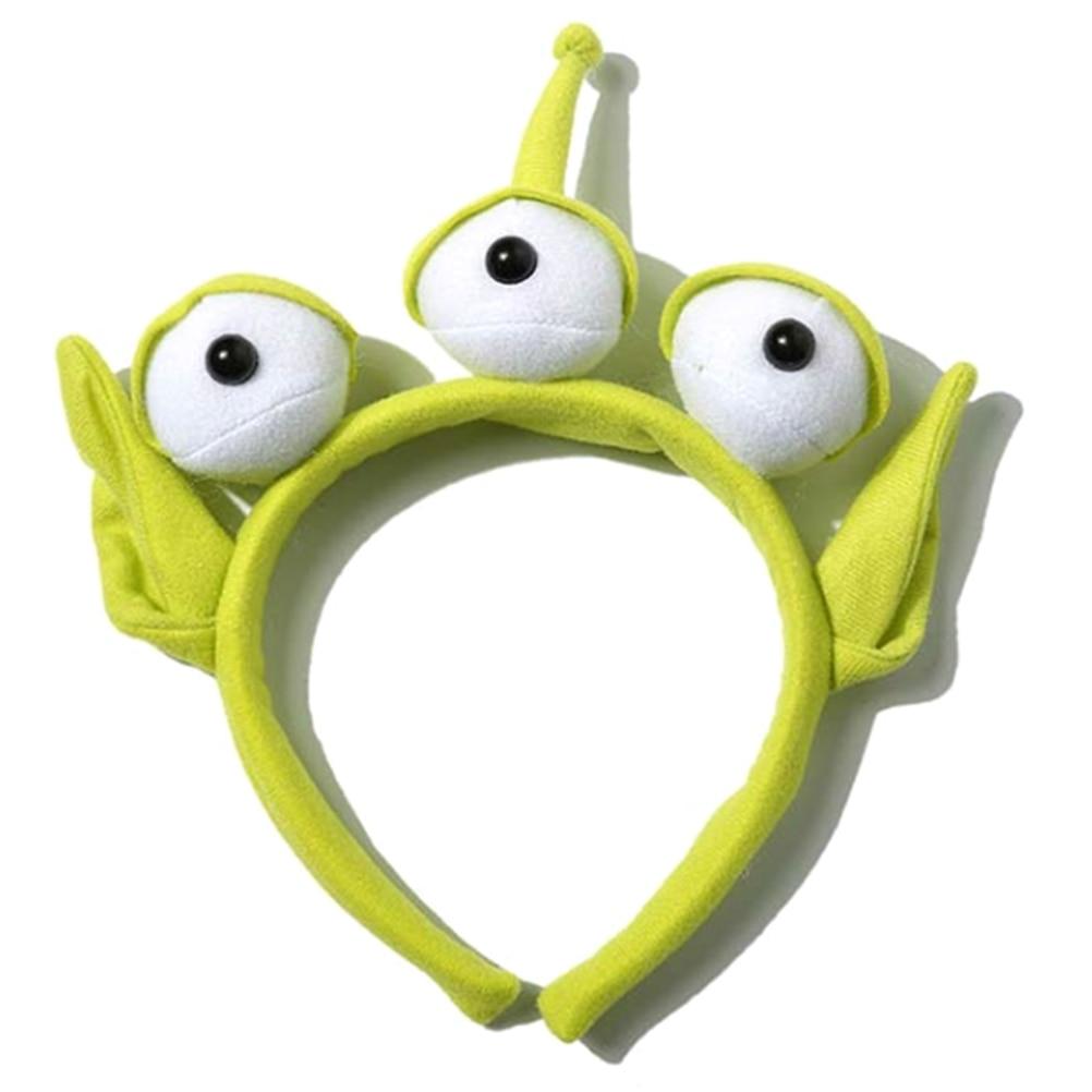 Novelty Gag Toy Relief Stress Anti-Stress sAlien Headband Plush Toy Monster Headband Costume Alien Costume Party Cosplay Gift