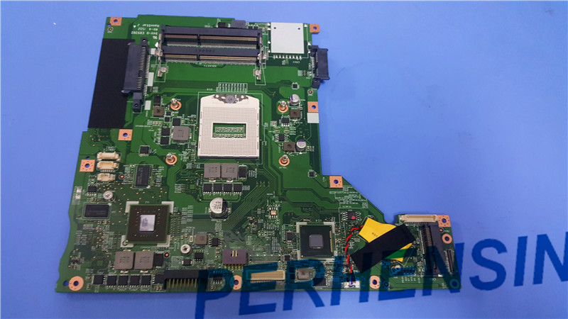 Original ms-1758 Laptop motherboard FOR MSI CX70 GP70 GE70 MAIN BOARD MS-17581 GT740M 100% Work Perfectly genuine for msi gt660r series ms 16f1 15 6 laptop touchpad bottons board w cable ms 16f1e 2