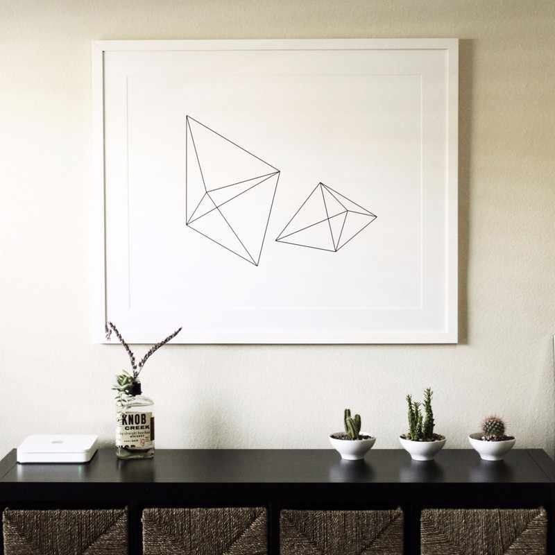 Горячая Геометрия узор стены Книги по искусству печати холст плакат Морден Дизайн, офис Детская комната Декор, украшение дома, рамки не входит в комплект
