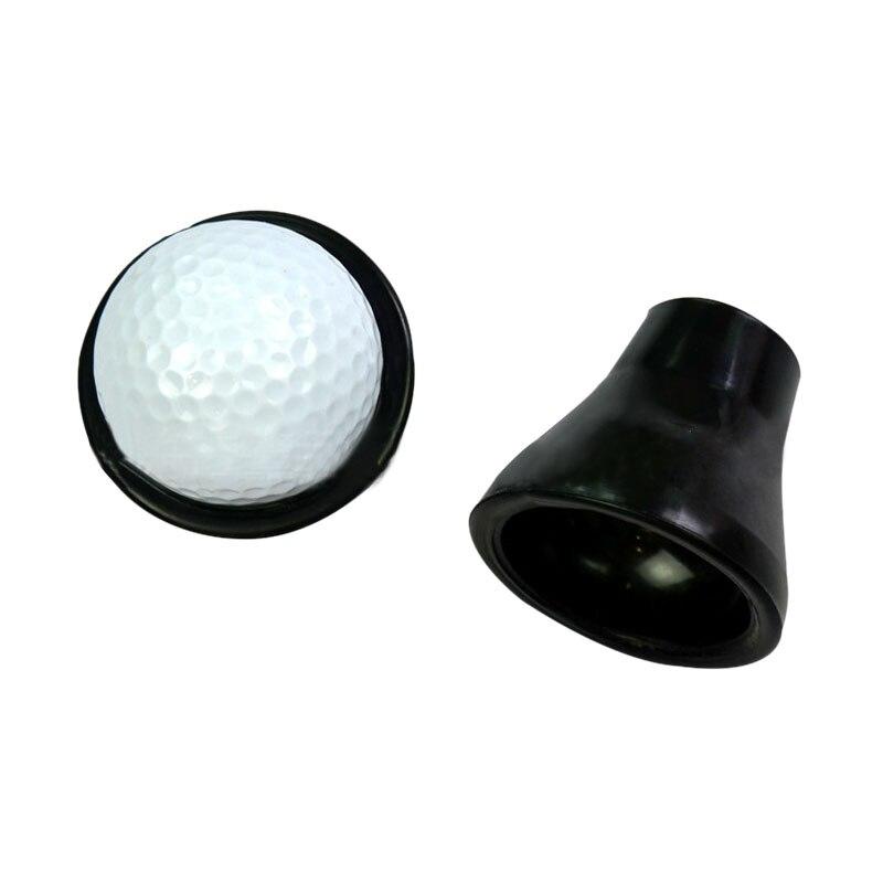 2 pcs/set Golf Tee Ball Pick Up Suction Cup Picker For Caddy Sucker Retriever Putter Grip