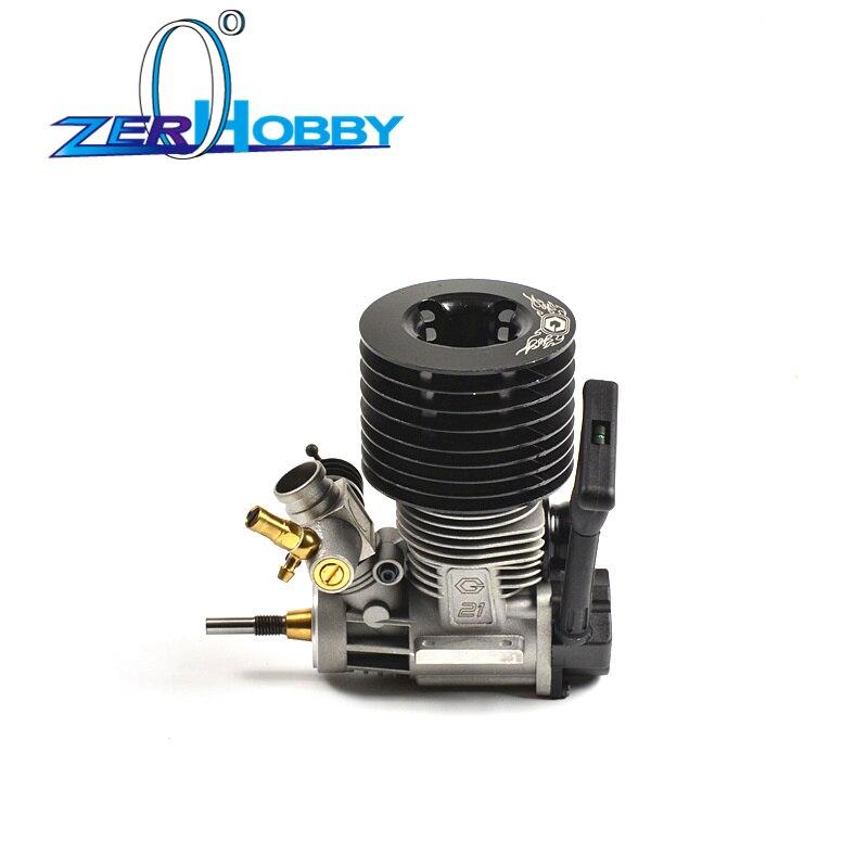 Rc auto teile 21cxp gerade pull motor für hsp 1/8 nitro methanol benzin rc auto serie-in Teile & Zubehör aus Spielzeug und Hobbys bei  Gruppe 1