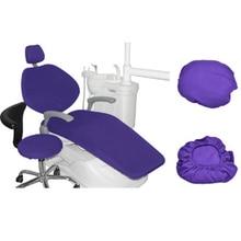 Housse de siège en cuir PU pour dentiste, housse de siège, élastique, étanche, 1 ensemble déquipement de dentiste, étui de protection
