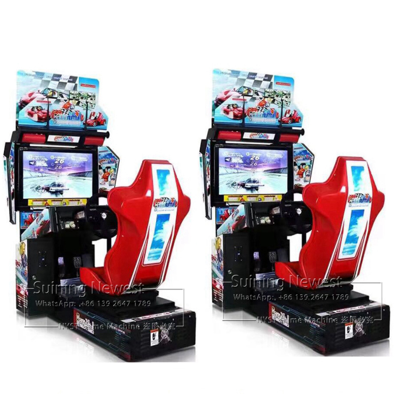 Car Simulator Games >> Us 2300 0 Nyst Amusement Park Entertainment Equipment Outrun Coin Operated Video Arcade Machine Driving Simulator Car Racing Games In Coin Operated