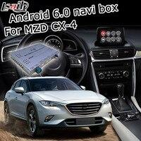 אנדרואיד 6.0 תיבת ניווט GPS לניו מאזדה CX-4 עם מראה תיבת ממשק וידאו iGO WAZE קישור youtube google play YANDEX