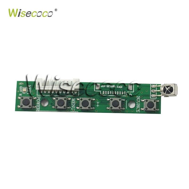 """מערכות ניווט Wisecoco 7.0"""" אינץ צג LCD פטל Pi מסך TFT LCD Monitor AT070TN90 92 94 + לוח הבקר TY2662-V1 Driver (4)"""