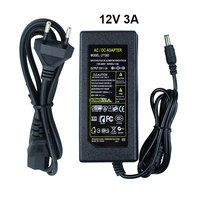 110V AC To 12V 2A DC Power Supply Transformer Adapter Charger Plug For 3528 5050 LED