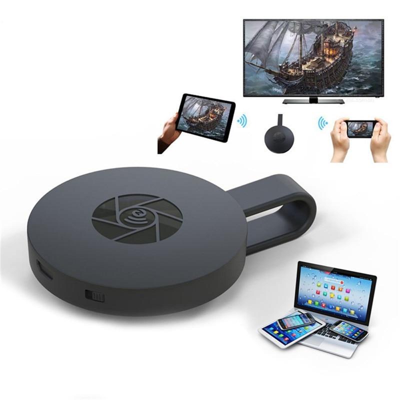 купить Miracast Adapter 2.4G WIFI Display Dongle Receiver TV Stick 4K Airplay Multi TV Tuner for iOS Android Mac Wireless Mirascreen по цене 963.27 рублей