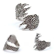 Vikings Wolf Paw UNISEX Rings