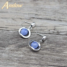 Anslow 2018 Vintage New Brand Fashion Jewelry Charms Bead Woman Stud Earrings For Elegant Women Men Christmas Gift LOW0065AE