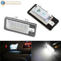 2 sztuk! 12 V SMD 3528 LED Auto Car Lampa Tablicy Rejestracyjnej Żarówka dla Audi A6 C6 Q7 A4 A4 B6 B7 8E RS4 RS6 A3 S3 S6 A8 S8