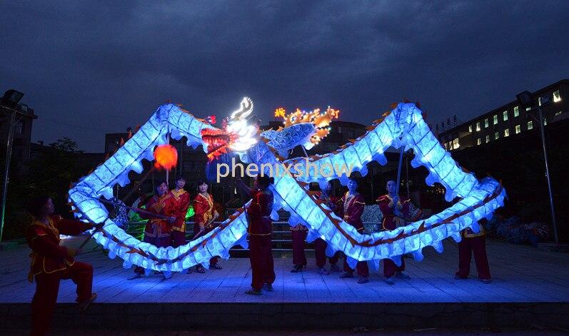 7.9M Crvena veličina za djecu LED svjetiljkeČEŠKI DRAGON PLES - Karnevalske kostime