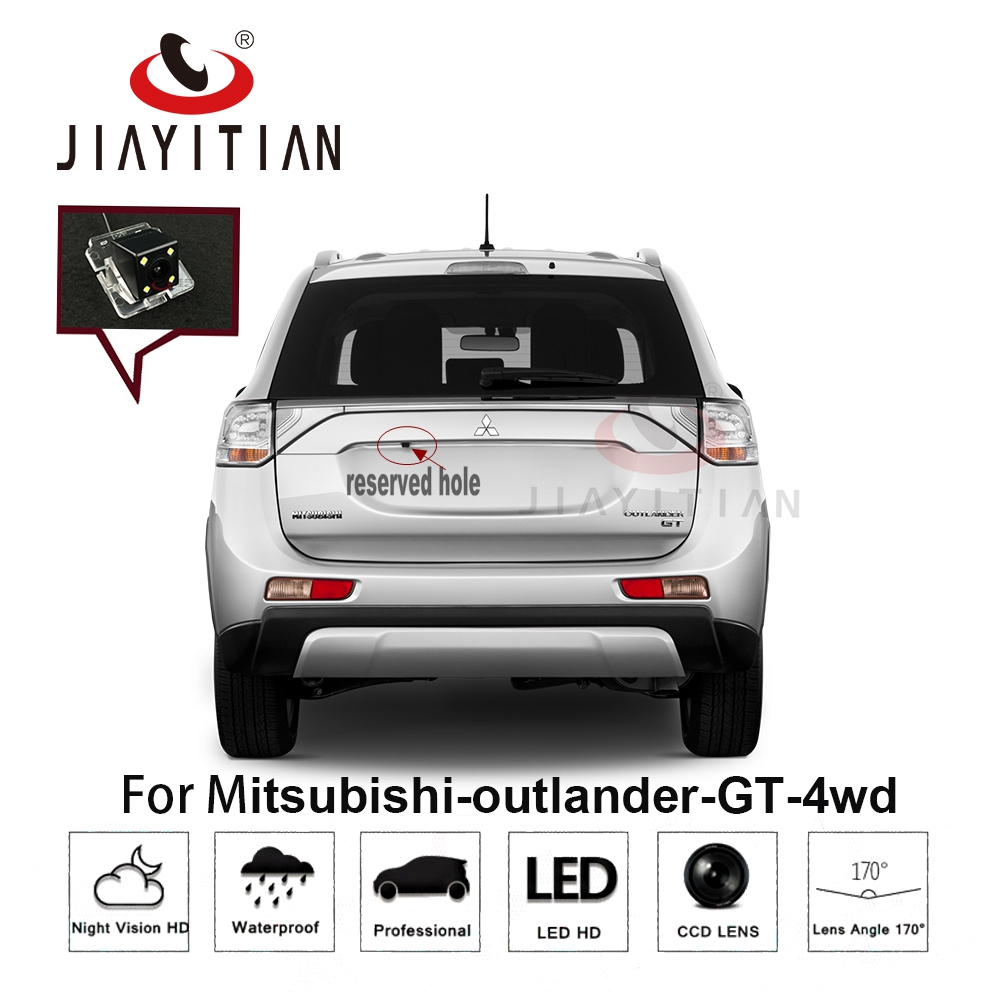 JIAYITIAN Rear View Camera For Mitsubishi Outlander GT 4WD 2006-2015/CCD/Night Vision/Reverse Hole/Reverse Camera/Backup Camera
