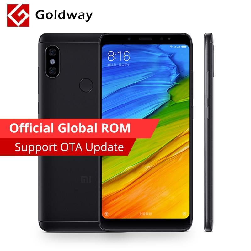 """Original Xiaomi Redmi Note 5 3gb Ram 32gb Rom Smartphone Snapdragon 636 Octa Core 5.99"""" 18:9 Full Screen 12mp Dual Ai Camera"""
