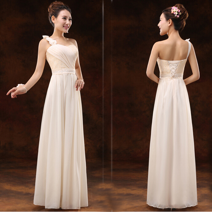 Champagne Colored Evening Dresses