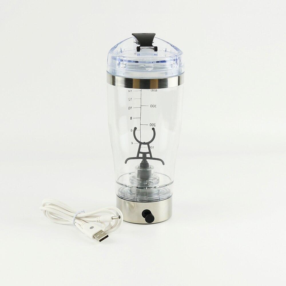 450 ml Wiederaufladbare Pulver Protein Shaker Elektrische Automatische Drink Lithium-Polymer Batterie BPA Mein Wasser Flasche