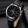 Beinuo Marca Homens Pulseira de Couro Moda Relógio de Quartzo Relógio Masculino Negócio Relógio de Pulso Relógios Militares