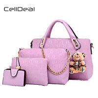 CellDeal High Quality PU Leather Totes 10 Colors Women Handbags Designer Satchel Messenger Bags Fashion Ladies