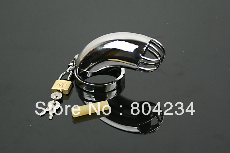 ФОТО chastity  stainless steel  chastity with catheter urethral  sounds dilator, penis enlargement Sex Products