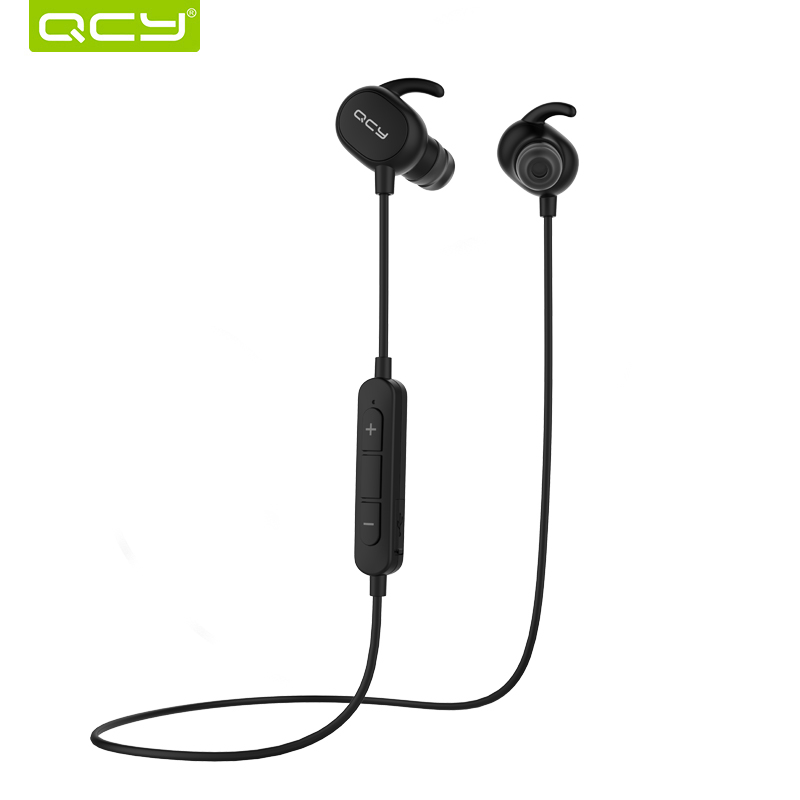 QCY QY19 Bluetooth Earphone Wireless Sweatproof Headset Sports Music Earbuds Bluetooth V4.1 Stereo Sound with Mic qcy q12 mini bluetooth earphone single earbuds with mic