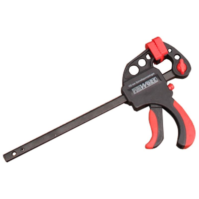 Woodworking Fixture Tools Clamp Adjustable Head F Shape Quick Clip  цены