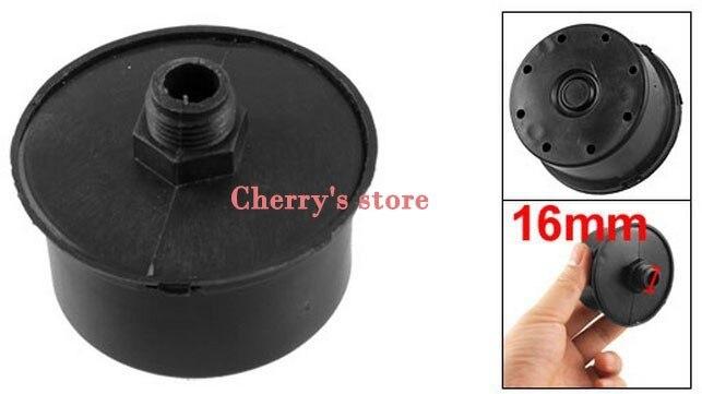 Plastique filtre /à air filtre Silencer Silencieux pour compresseur dair pneumatique pi/èces Noir 16/mm 3//8/PT