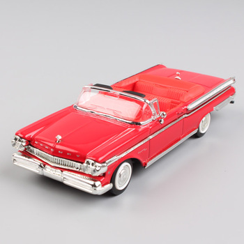 1 43 scale ford 1957 luxury Mercury Turnpike Cruiser Spyder metal metal die-cast models toys detailed replica car for collector image