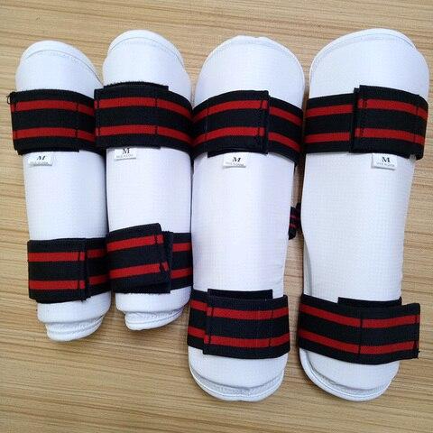 Equipamento de Taekwondo Foream em Branco Protetor Alta Qualidade Braço Guarda Legging Geer Chutando Equipamentos Boxe Judo Karate Miúdo Wtf Itf