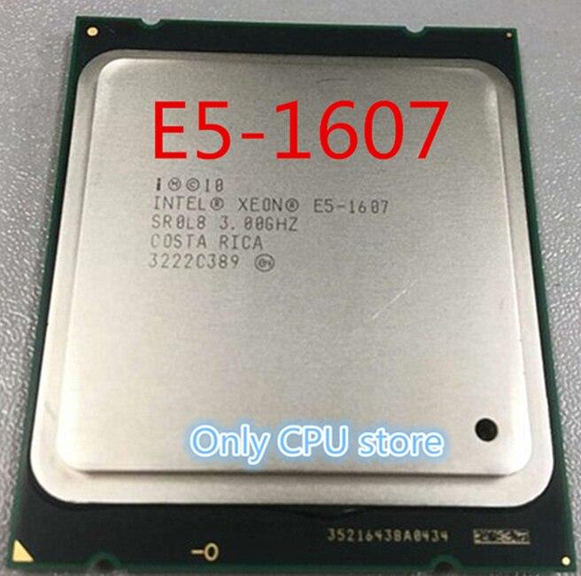 Intel Xeon CPU E5 1607 SR0L8 3.00GHz 4 Core 10M LGA2011 E5 1607 processor free shipping|CPUs| - AliExpress