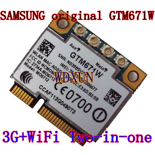 High-speed Multi-mode 3g Module Option Gtm671 Wifi+3g 14.4m Wcdma Hsupa Pci-e Internal Wireless Edge Wifi Pcie Network