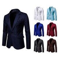 Męska marynarka NEW Arrival formalna odzież biznesowa dopasowany przylegający garnitur kurtka mężczyźni biura kurtka mężczyzna na co dzień