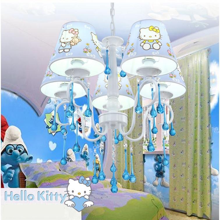 Blue Hello Kitty Room Design