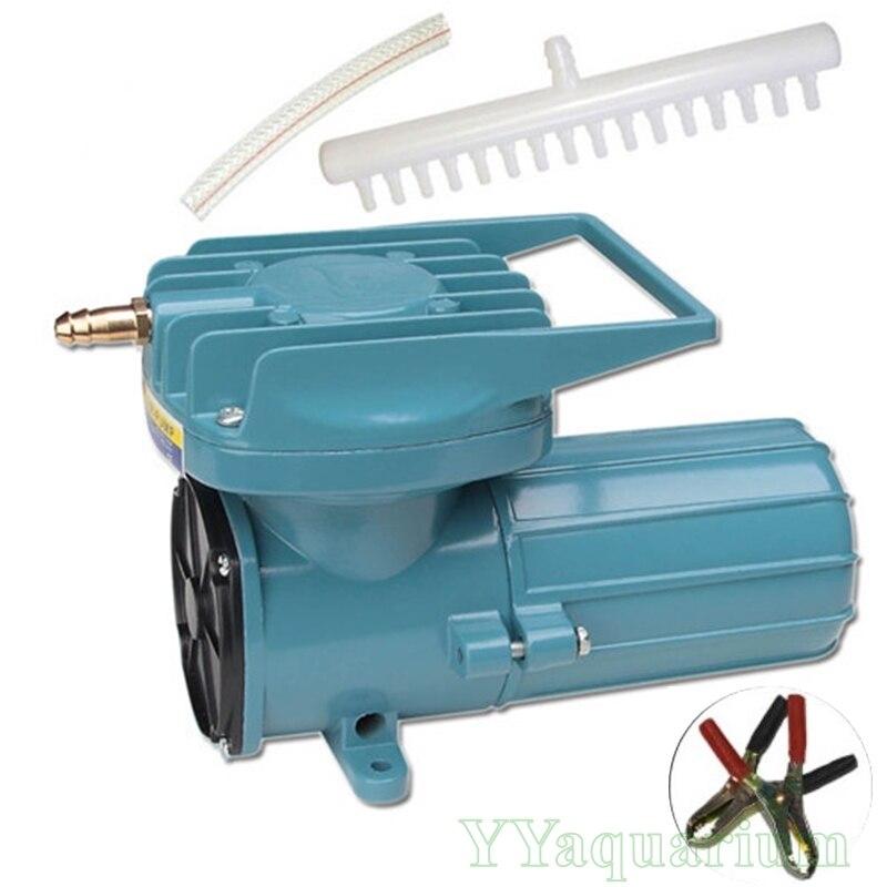 DC 6 v 12 v Solar Fischteich Belüfter Hydrokultur Elektromagnetische Fahren Luft Kompressor Aquarium Aquakultur Sauerstoff MPQ Air Pumpen