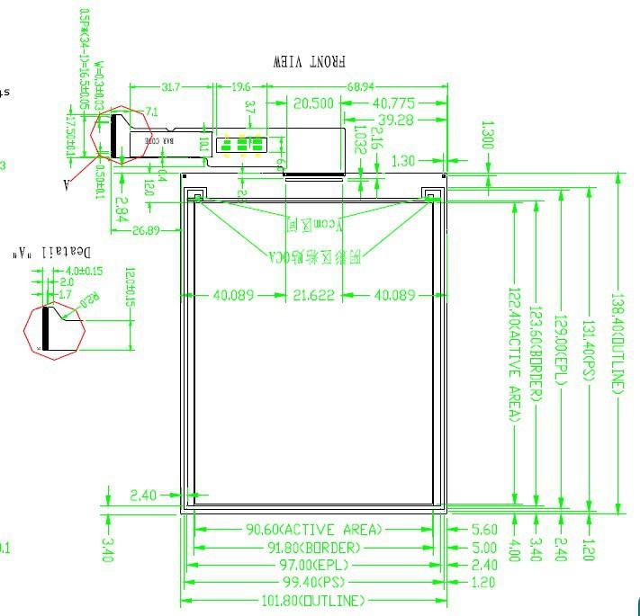 Epaper demo kit for 6'' 800X600 epaper display GDE060BA-in ...