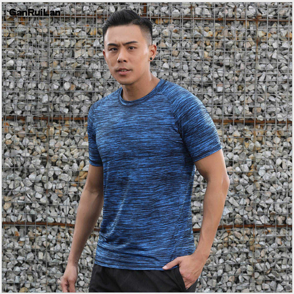 2019 New Short Sleeve T Shirt Men O Neck Polyester Mens T Shirt Summer Cool Tee Male Slim Casual Boys Tee Shirts Homme 8XL