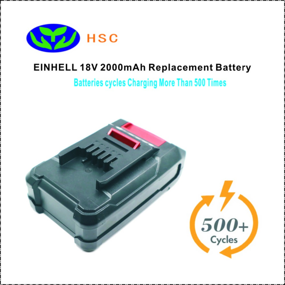 18650 Battery Composition EIN18C 2000mAh 18V Li ion Battery Pack Replacement EINHELL PXBP 300 PXBP 600