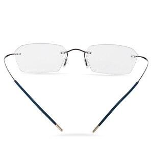Image 5 - جديد الانتقال النظارات الشمسية التيتانيوم فوتوكروميك نظارات للقراءة الرجال قصر النظر الشيخوخي الديوبتر في الهواء الطلق الشيخوخي