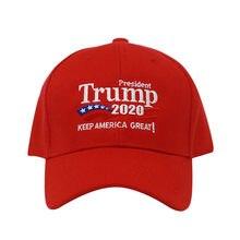 Gorra de béisbol con letras bordadas para hombre y mujer, gorro de béisbol con letras bordadas, ideal para la campaña de elección de Estados Unidos, 2020